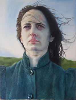Vanessa Ives oil portratit by andresarte