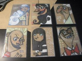 Smile it up Sketch Cards by MOOKSVILLE
