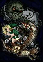 Majora's mask by yuririn1219