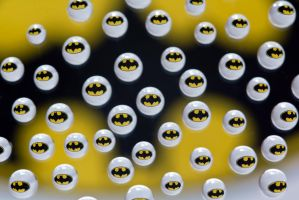 Batman water drops by Doogle510