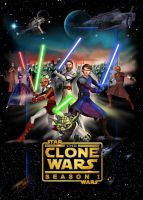 Clone Wars 1 poster by denisogloblin