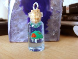 Metroid Bottle...take 2 by SerenFey