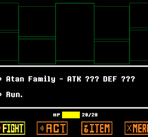The Atan Family blocks your way! (animated) by JulieKarbon