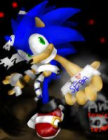 Sonic in the house of the dead by ShadowtailsDerol