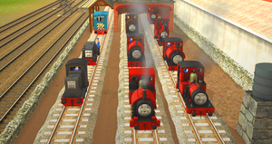 The Skarloey Railway Engines by Nictrain123