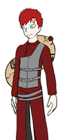 Gaara by heartsgirl