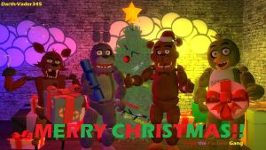 Christmas and new year for fnaf ocs by dinzydragon on deviantart