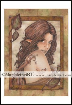 Leaf by MarjoleinART