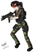 Tacticool Girl by ND-2500