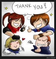 Thank you! by Sheenah