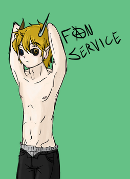 Fanservice by CowDemonOfficial