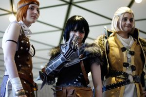 Dragon Age: All together! by NephilimCosplay