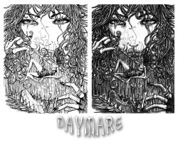 daymare cover inks.. by neurotic-elf