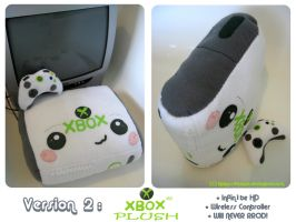 XBOX 360 Plush Edition V2 by kickass-peanut