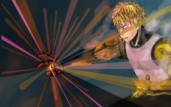 Genos(One-Punch Man) by Angnuo
