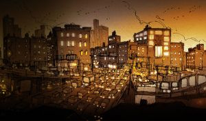 City Lights by PascalCampion