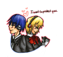I Want to Protect You - P3 by HappehCakes