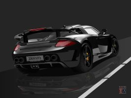 Porsche Mirage GT - Black by Imperatore34