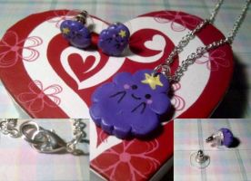 Lumpy Space Princess Jewelry (For Sale!) by ChloeyLovesLlamas
