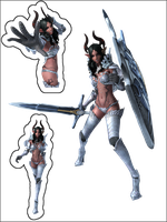 TERA - Castanic Knight H15 (OC) by deant01
