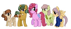 Sugar, Spice, Bubblegum, Green Sweet, Dreamer Dash by liz72098