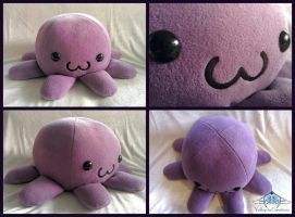 Giant Octopus plush by ValkyriaCreations