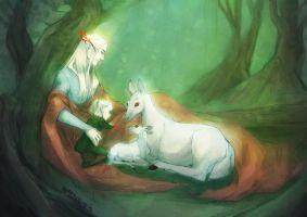 lotr - sons of the forest by ItanHimitsu
