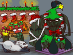 LoL - The Angry Christmas Tree by Khalia1114