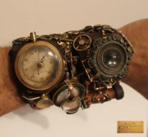 Steampunk watch -01 by Cirdann72
