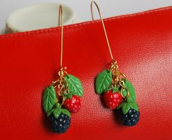 Woodland Berries Earrings by Madizzo