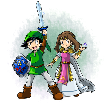 Commish: The Legend of May by Nintendrawer
