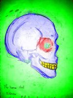 Colourful Skull - experiment by Flower-Panda-Boy