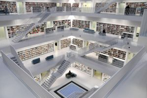 Library III by brighthoriz0ns