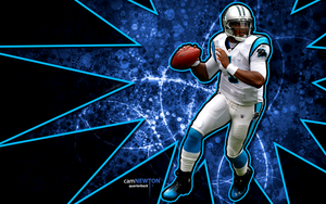 cam newton wallpaper 2 by jb-online