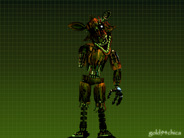 Phantom Withered Foxy is a thing of Nightmares by gold94chica