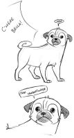 Pugs are Rude by Pugletz