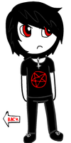 """""""i love damien thorn"""" by gore-whore-666"""