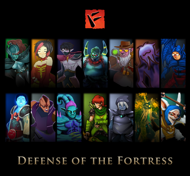 Defense of the Fortress by mazingerpip