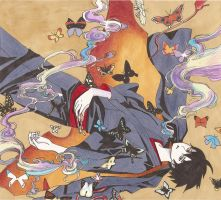 Watanuki's Butterfly -Final- by PowermadMistress