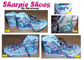 Sharpie Shoes by Moob-Milk-Inc