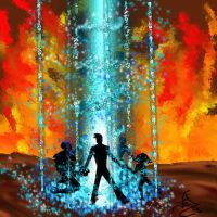 Artemis Fowl-in the volcano by ElizaLento