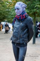 Project cosplayer- An Asari by DARKmousy09