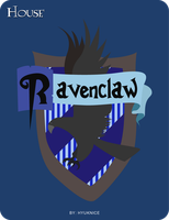 HP Cards- Ravenclaw crest by Hyuknice