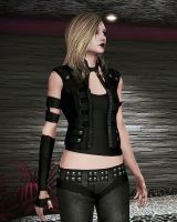 Heather Shepard - ME2 Jack Vest Outfit Mod by heather-shepard