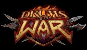 DRUMS OF WAR LOGO by KrazyKut