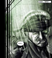 Solid Snake by Hawk4