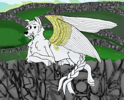 winged wolf 7 by WingedWolfGirl