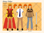 Ref - Prince Yakeo by SRealms