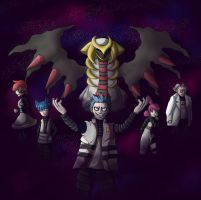 Pokemon Platinum- Team Galactic by Oneicedragon