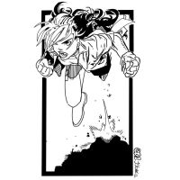 Rogue Bachalo Inks by JamesLeeStone